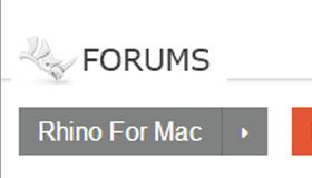 Foro di Rhino per Mac