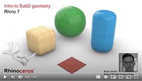 Intro to SubD geometry