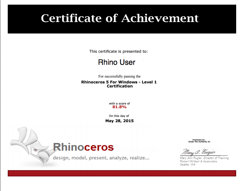Certification - Latin America