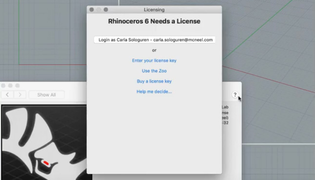 License Options Mac