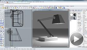 Modellierung einer Lampe