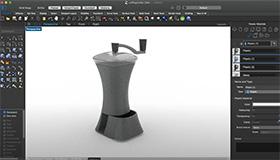 Kaffeemühle in Mac