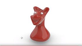Spielzeughund-Modellierung