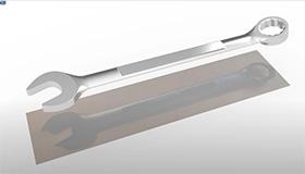 Modellierung eines Schraubenschlüssels