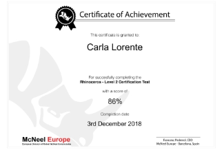 Rhino Certifications and Exams - North America
