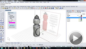 Modeling a Water Bottle