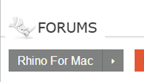 Forum di Rhino per Mac