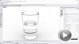 Modeling a Simple Glass