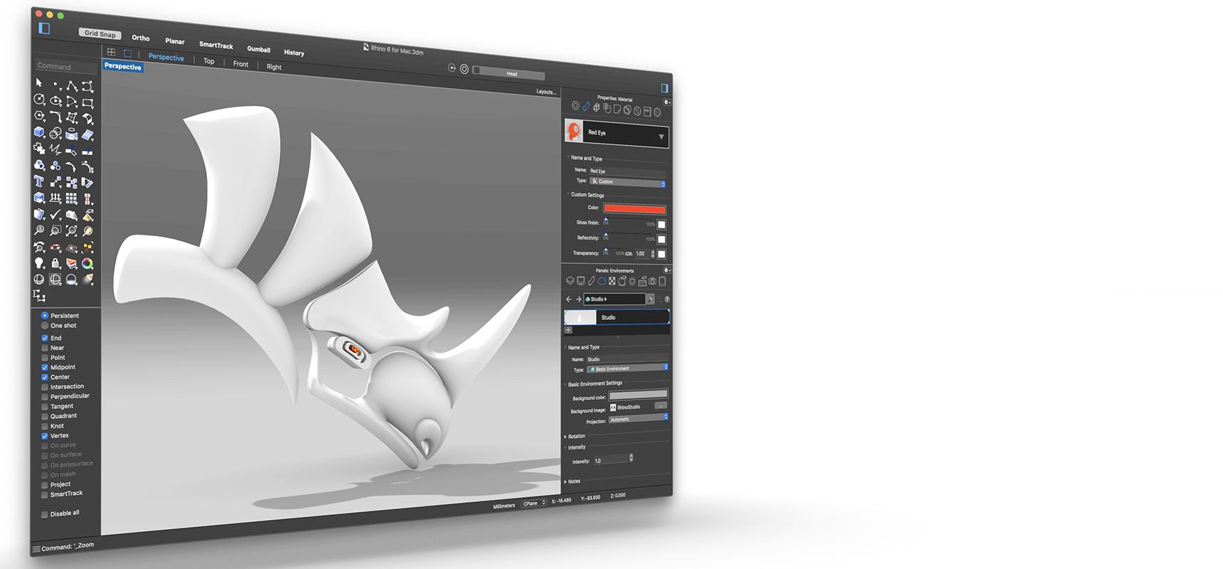 Rhino 6 for Windows and Mac
