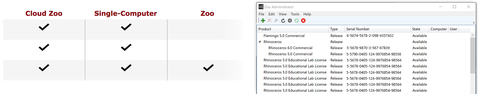 Rhinoceros 3D Feature Overview