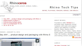 Learning to use Rhino - Tutorials Collection