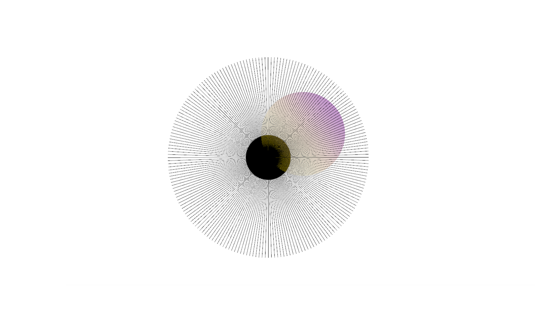 色グラデーションと透明度