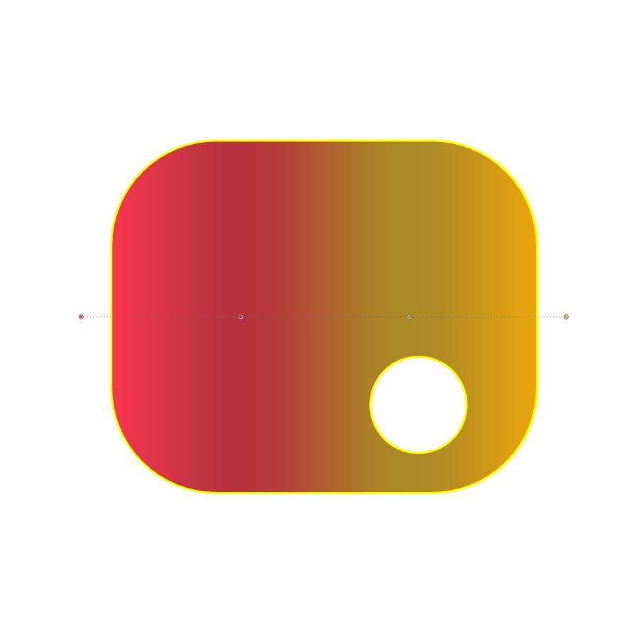 複数の色の停止位置を追加