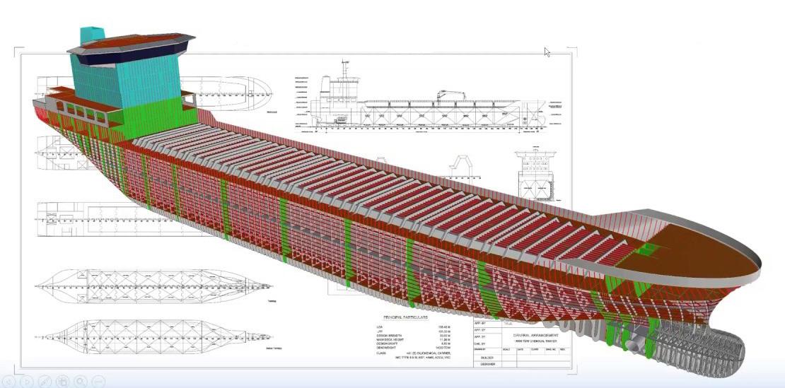 ExpressMarine parametric ship structures