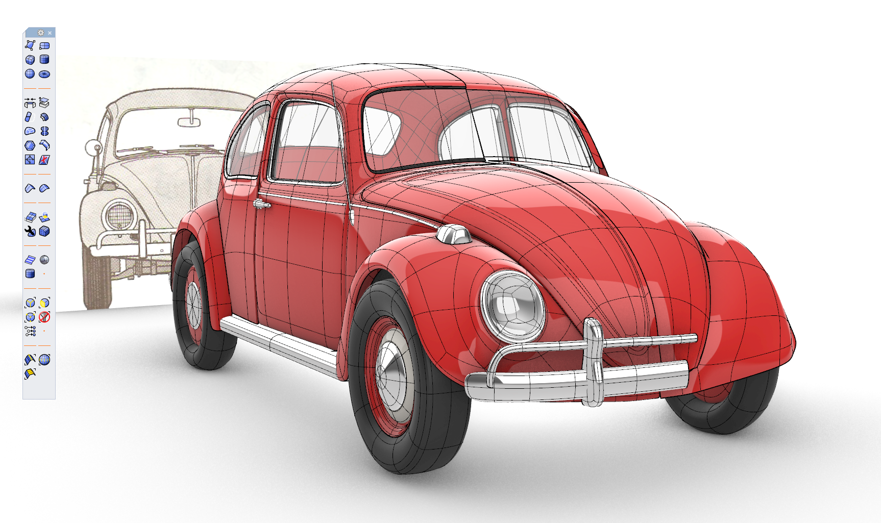 SubD 66 Beetle by Holo