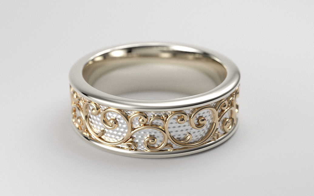 SubD Ring by Shinya