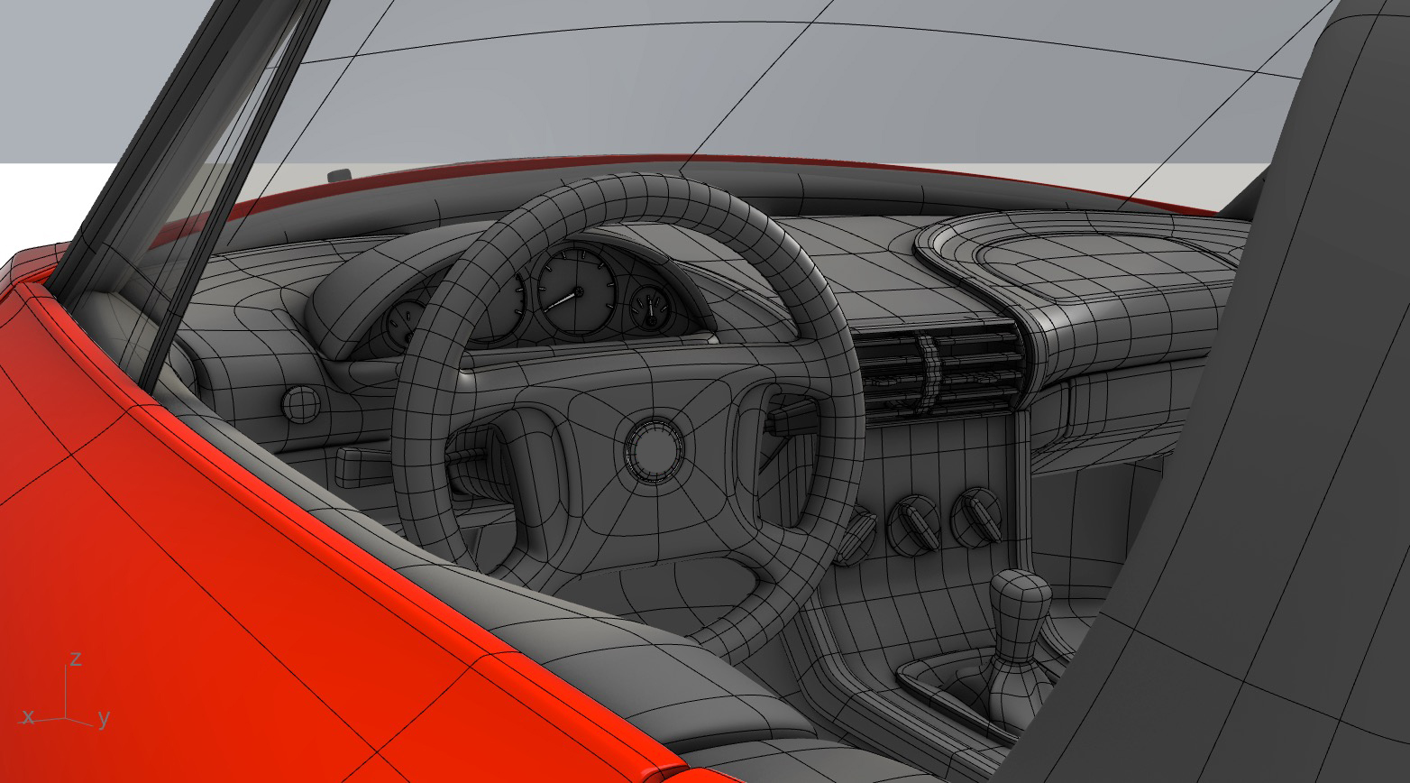SubD Car Interior CarterTG