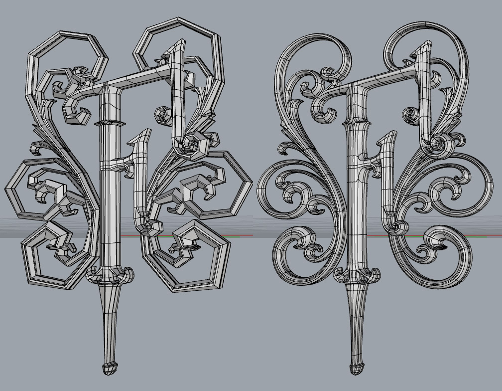 SubD Scrollwork by PaulS