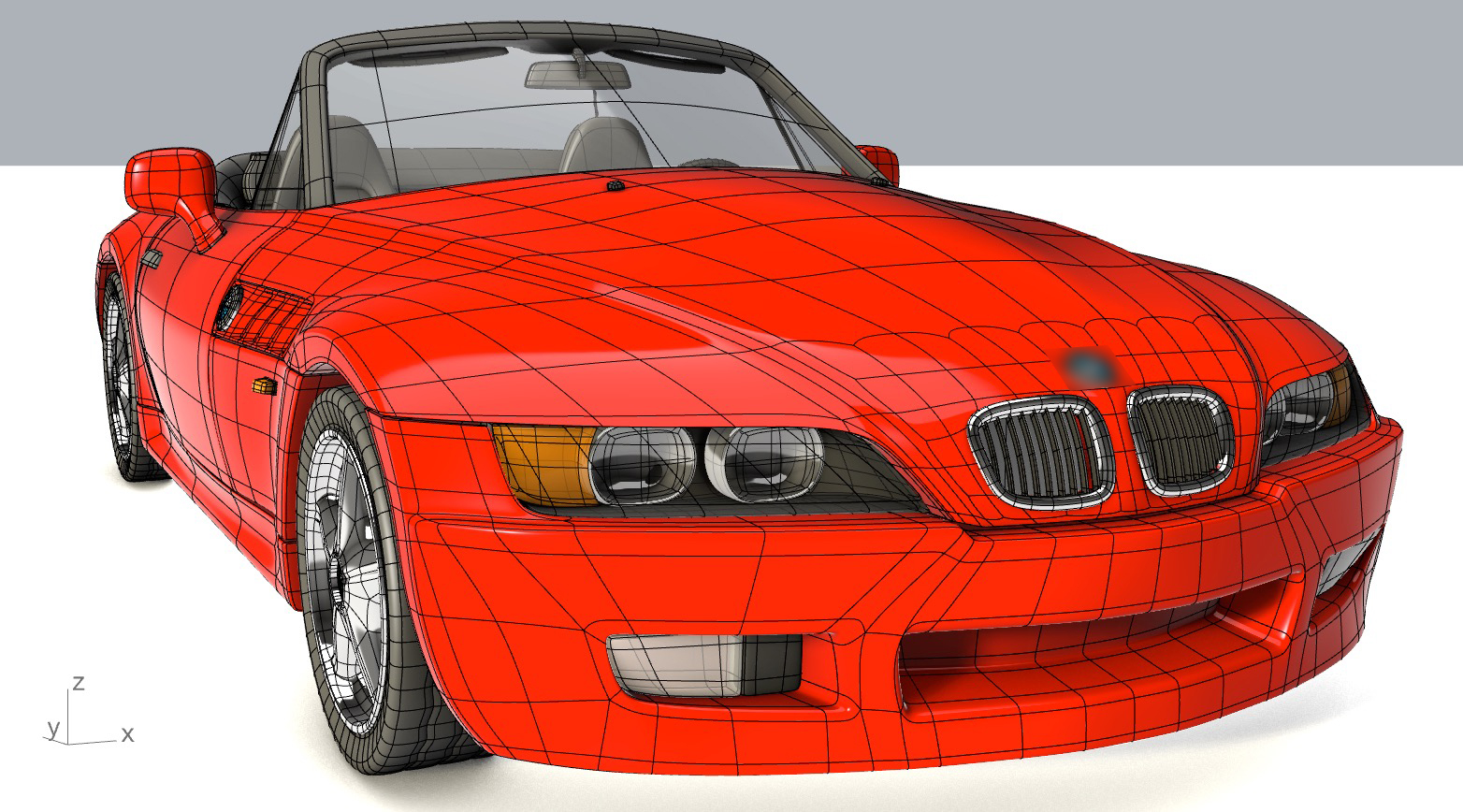 SubD Car by CarterTG